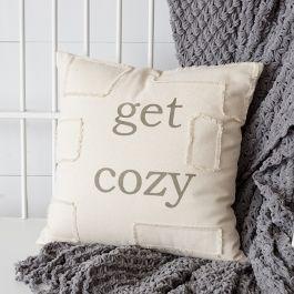 Get Cozy Accent Pillow